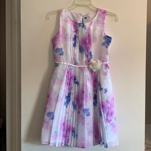 Janie and Jack Girls Floral party/holiday dress
